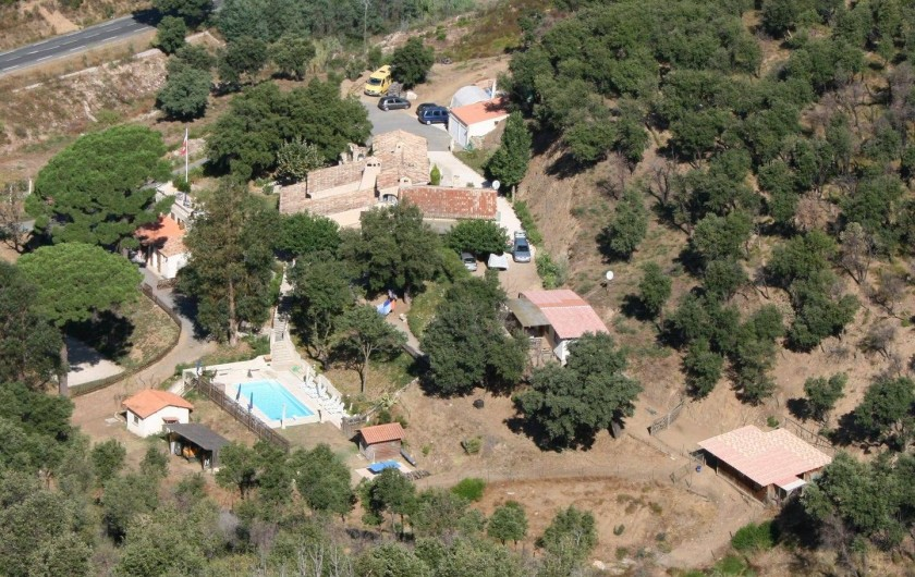 Location de vacances - Mas à Sainte-Maxime - le Domaine Les Amandiers