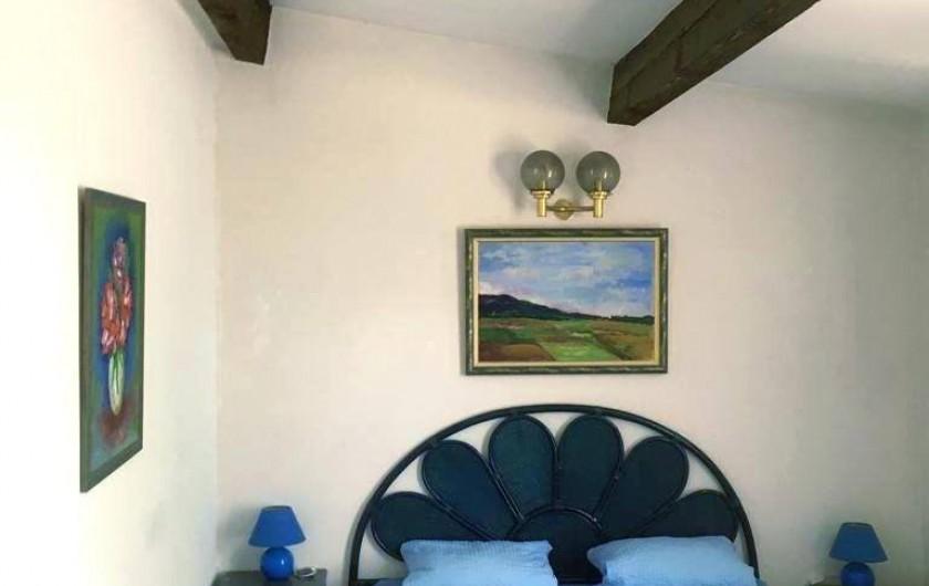 Location de vacances - Mas à Sainte-Maxime - la chambre n°1