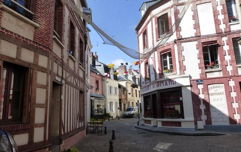 Location de vacances - Appartement à Villerville - village