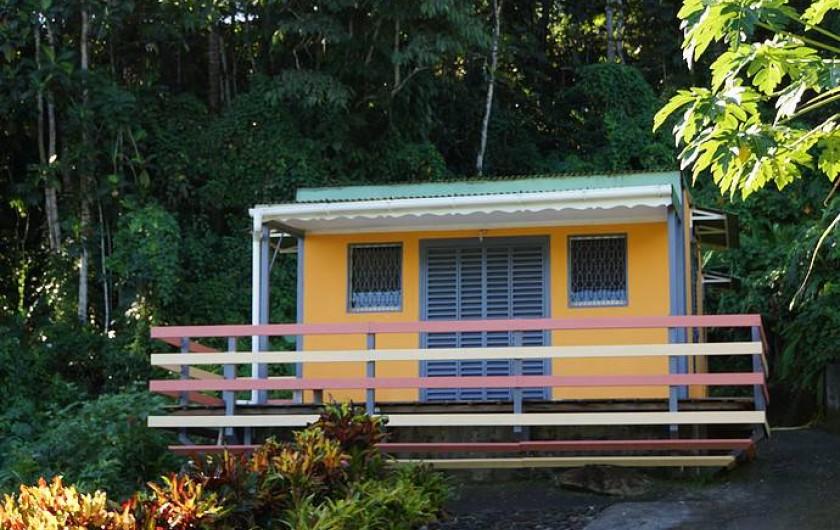 Location de vacances - Gîte à Sainte Rose - Gite Bois d'Inde