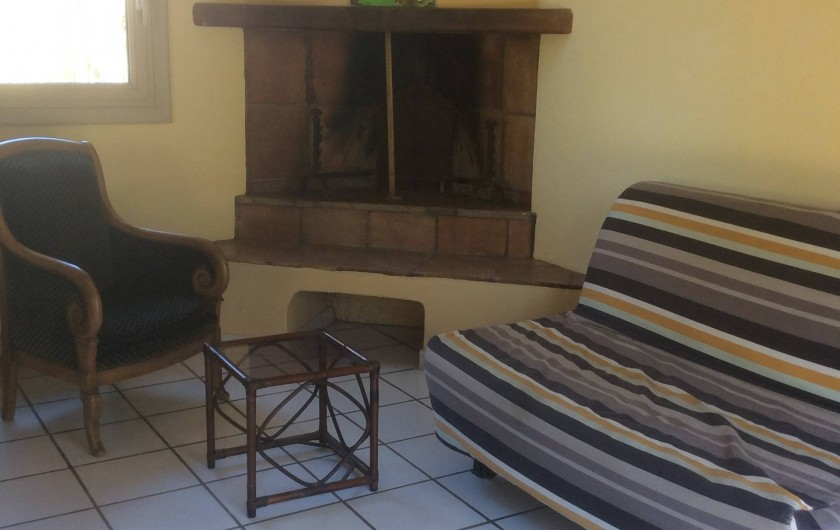 Location de vacances - Chambre d'hôtes à Villelaure - la pièce principale du studio