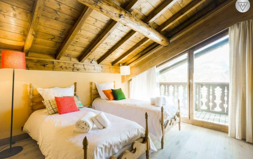 Location de vacances - Appartement à Megève - Chambre 3