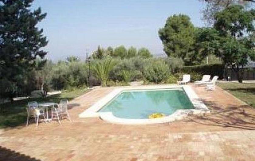 Location de vacances - Villa à Xàtiva - piscina