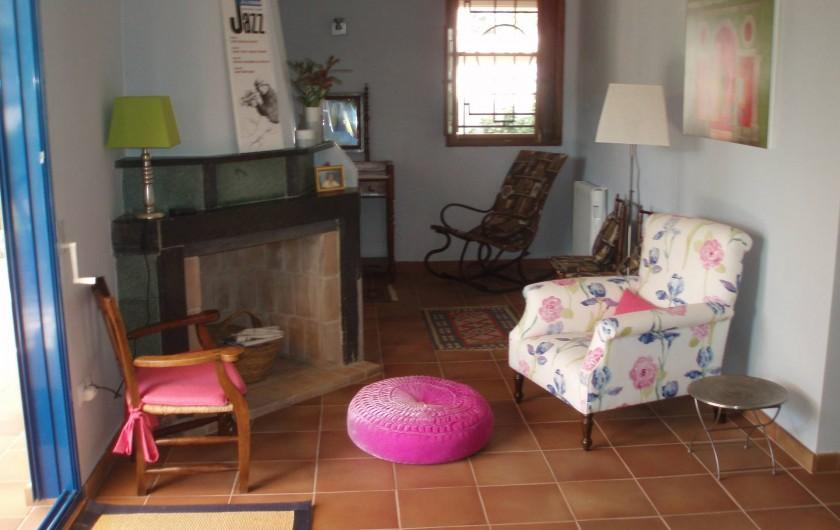 Location de vacances - Villa à Xàtiva - sala
