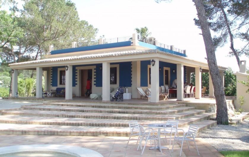 Location de vacances - Villa à Xàtiva - exterior de la casa