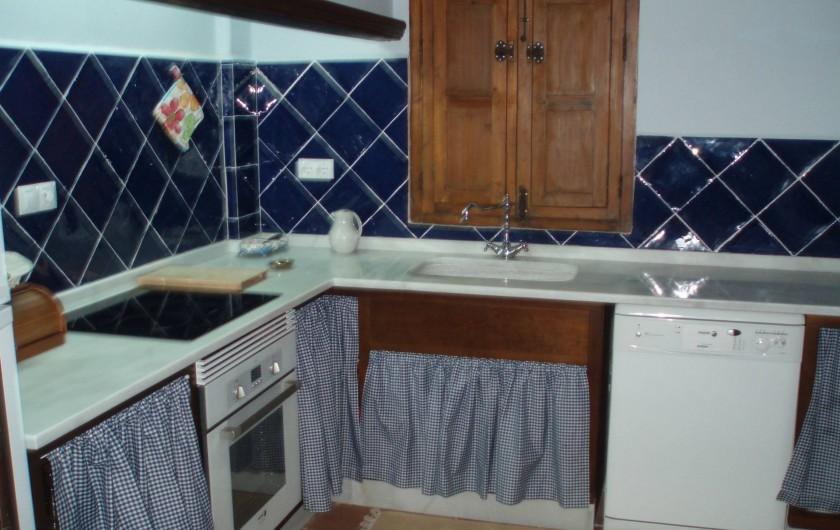 Location de vacances - Villa à Xàtiva - cocina