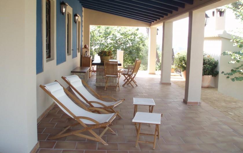 Location de vacances - Villa à Xàtiva - un porche