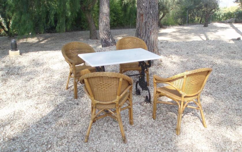 Location de vacances - Villa à Xàtiva - pinada de barbacoa