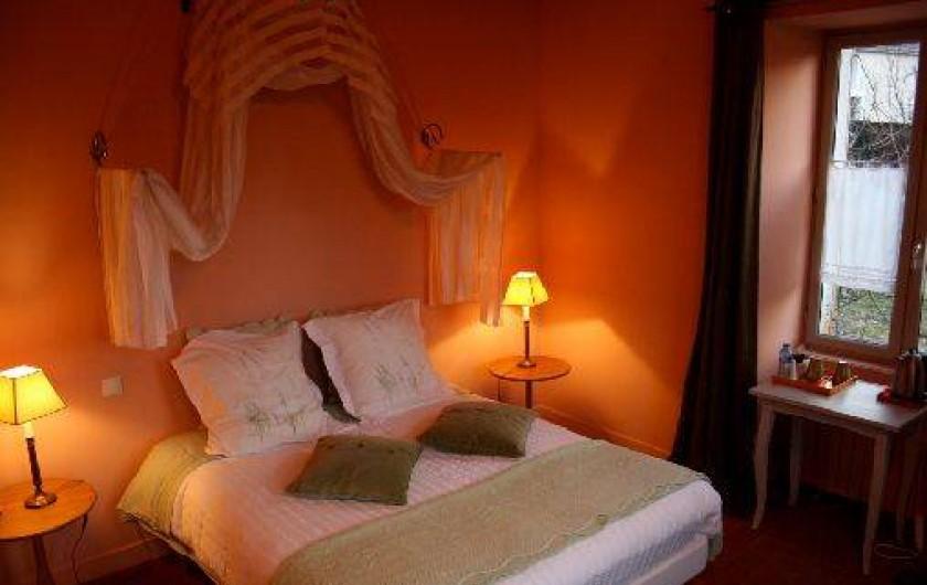 Location de vacances - Chambre d'hôtes à Joux-la-Ville - la chambre du jardinier