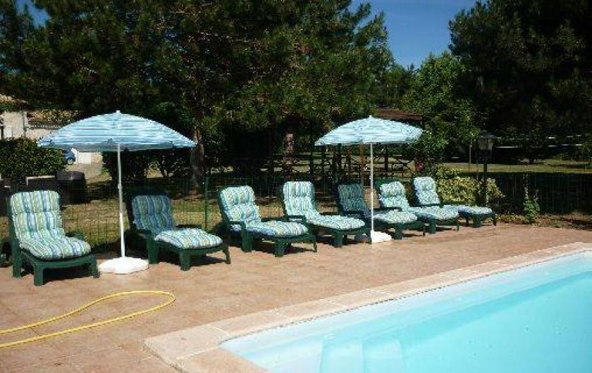 Location de vacances - Gîte à Dondas - piscine