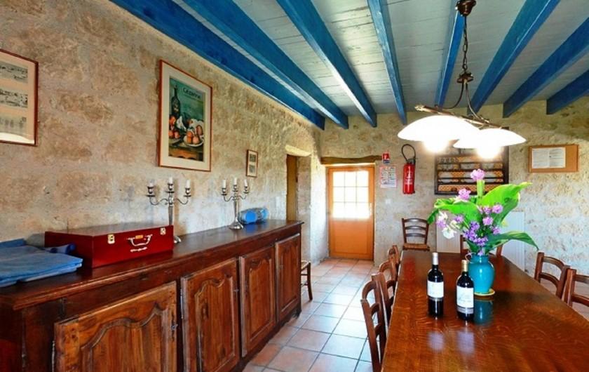 Location de vacances - Gîte à Dondas - salle à manger