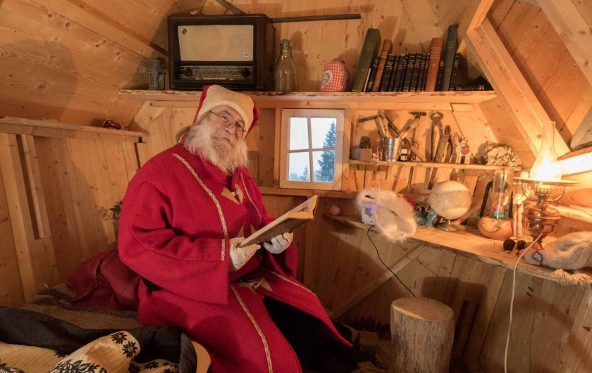 Location de vacances - Chalet à Anould - Rencontre avec le Père NOEL