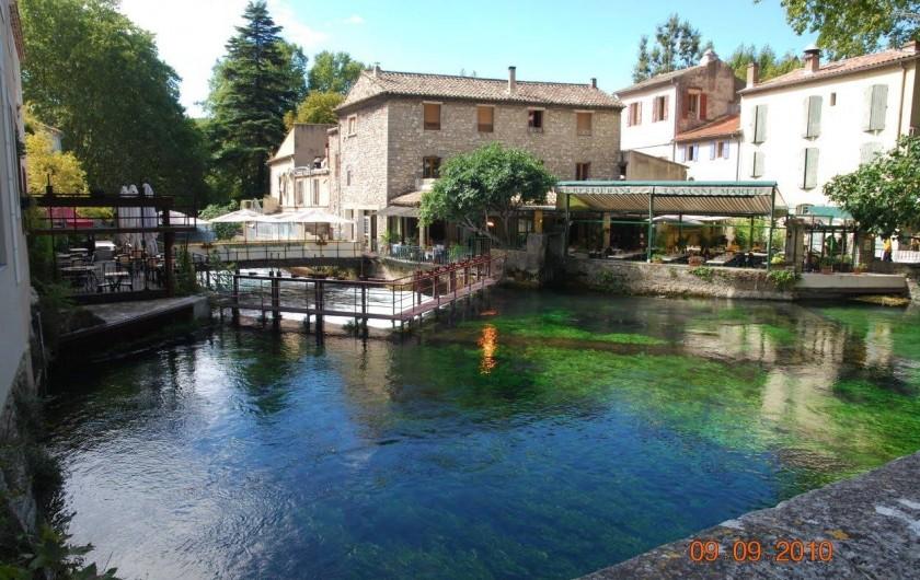 Location de vacances - Gîte à Mollégès - Fontaine de Vaucluse