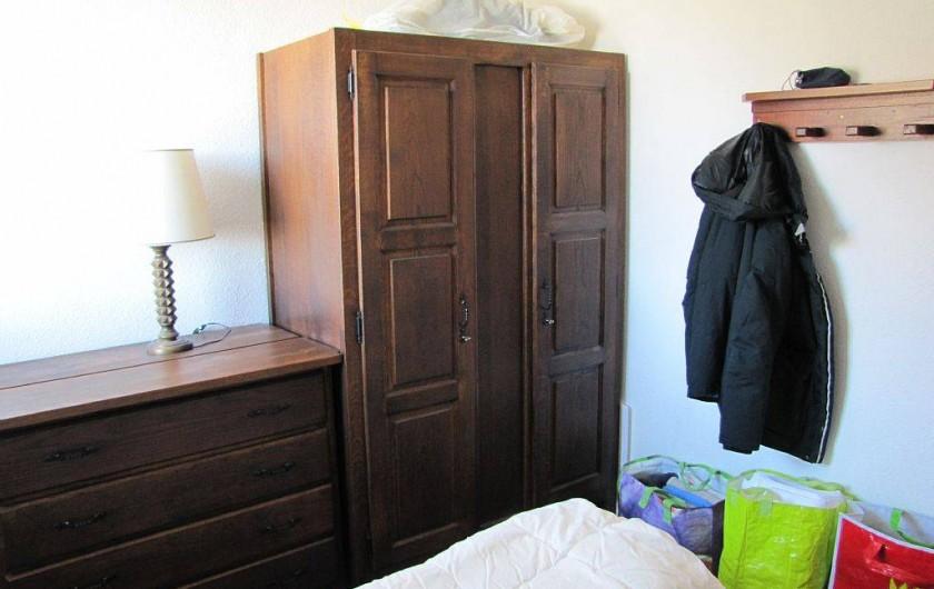 Location de vacances - Appartement à Les Menuires - chambre lit double