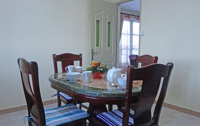 Location de vacances - Appartement à Pereybere - Bambou