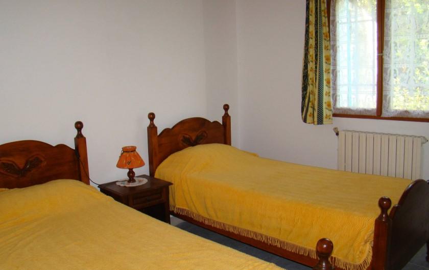 Location de vacances - Villa à Aureille - chambre 2 lits