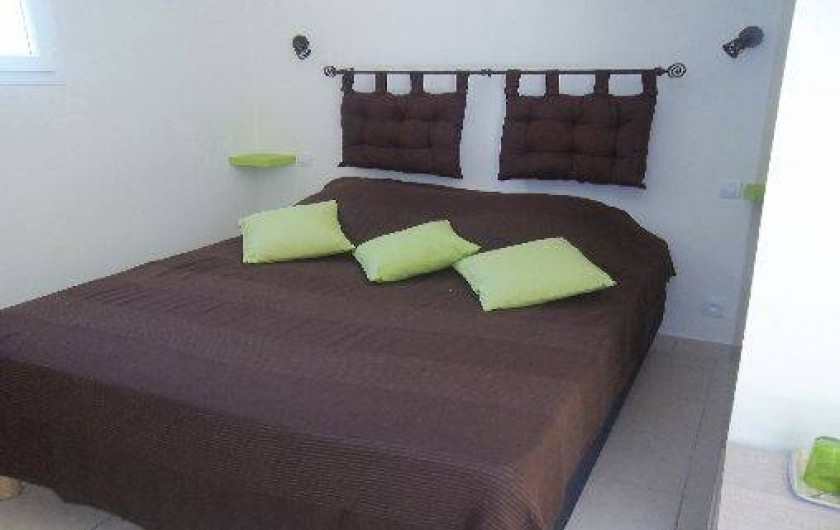 Location de vacances - Chambre d'hôtes à Rapale - Chambre romarin