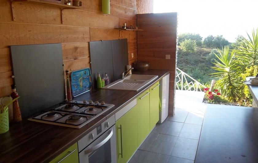 Location de vacances - Chambre d'hôtes à Rapale - Cuisine d'été