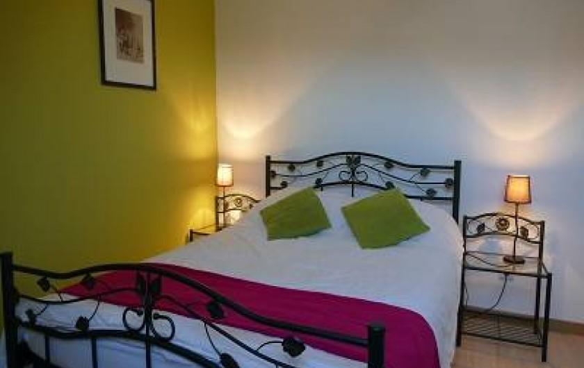 Location de vacances - Maison - Villa à Annecy - Gite n°3 Chambre lit 140