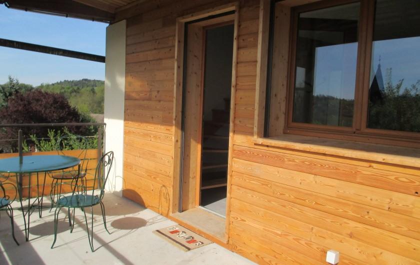 Location de vacances - Maison - Villa à Annecy - Gite n °3 Terrasse privative