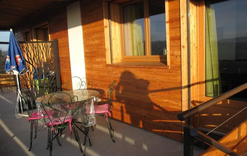 Location de vacances - Maison - Villa à Annecy - Gite n° 2 Terrasse