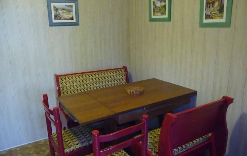 Location de vacances - Maison - Villa à La Collancelle - Petite cuisine fonctionnelle