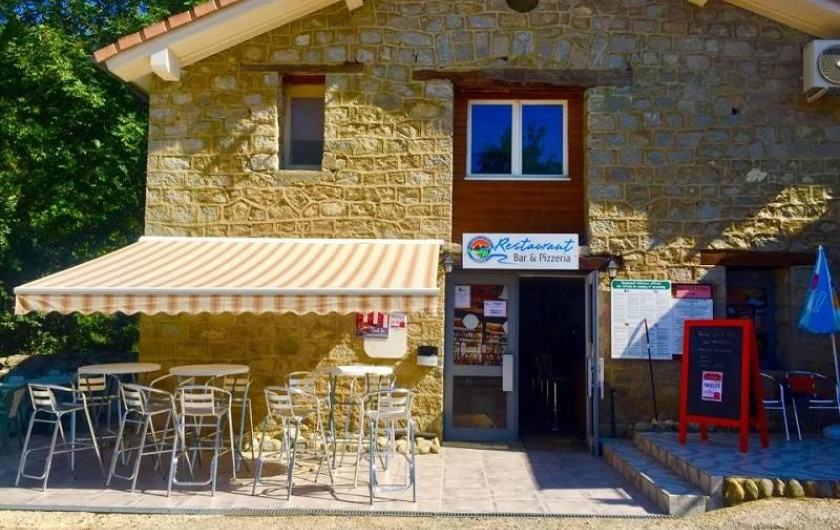 Bar, snack-pizzeria du Camping
