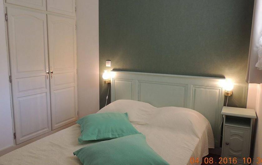 Location de vacances - Maison - Villa à La Palme - Chambre verte