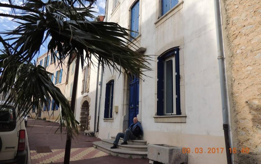 Location de vacances - Maison - Villa à La Palme - Devant la maison.