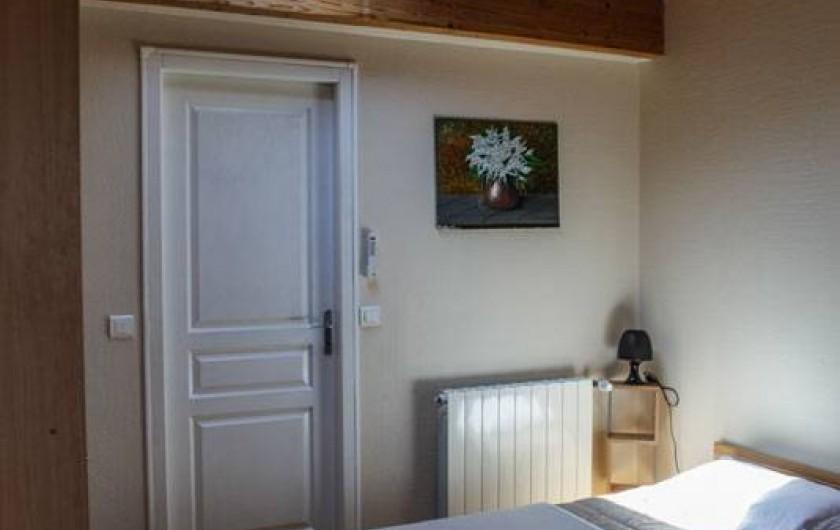Location de vacances - Gîte à Villarzel-du-Razès - Apt OUEST - chambre double