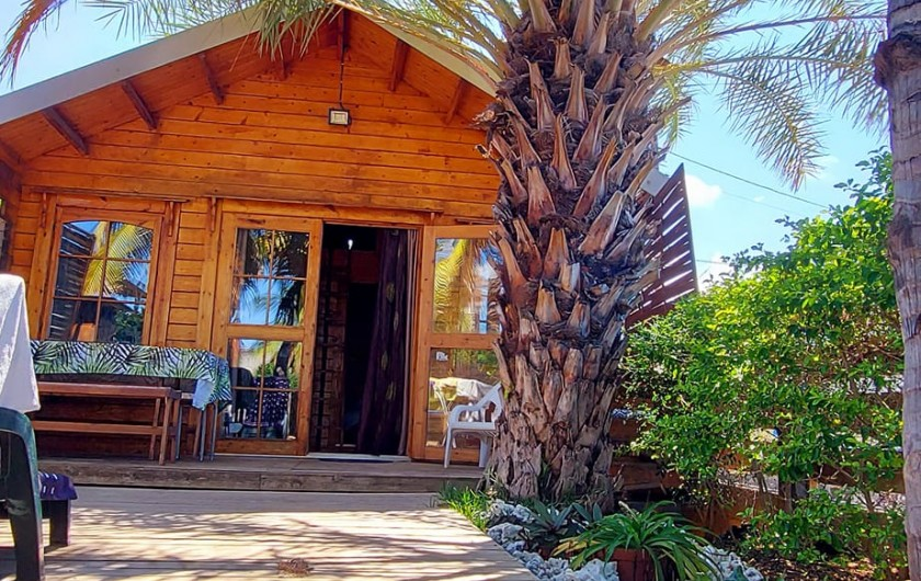 Location de vacances - Chalet à La Saline-Les-Bains - entrés privatif et à proximités des propriétaires .