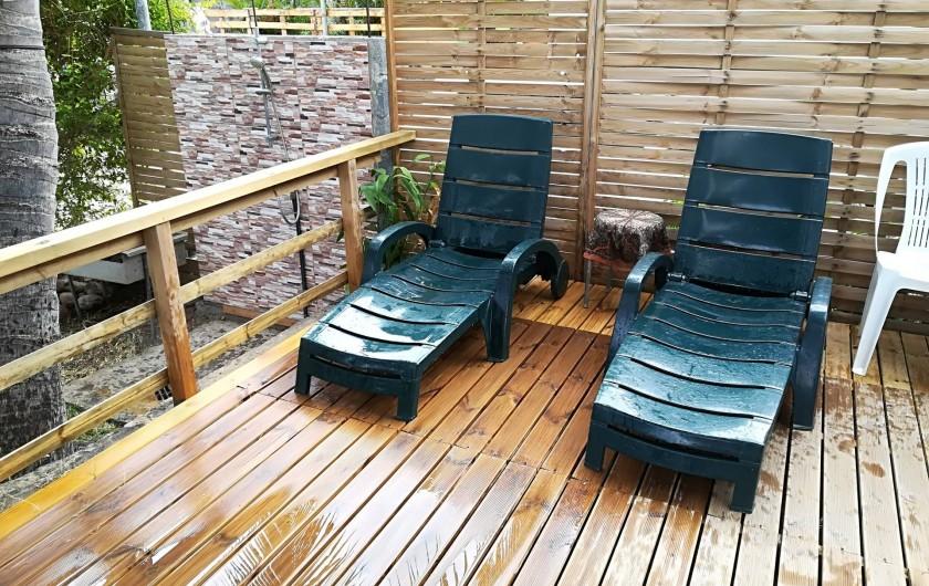 Location de vacances - Chalet à La Saline-Les-Bains - en couple , amie , familles idéal pour des vacances dans la détentes