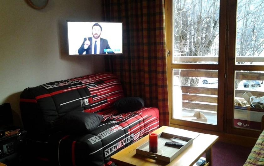 Location de vacances - Appartement à Valloire - salon