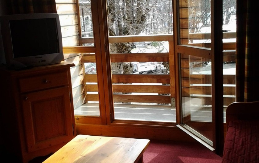 Location de vacances - Appartement à Valloire - balcon