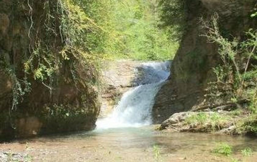 Location de vacances - Gîte à Sant Joan de les Abadesses - Terrain cascade