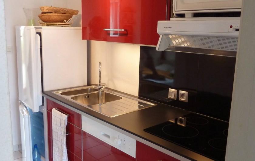 Location de vacances - Maison - Villa à Le Barcarès - Cuisine équipée