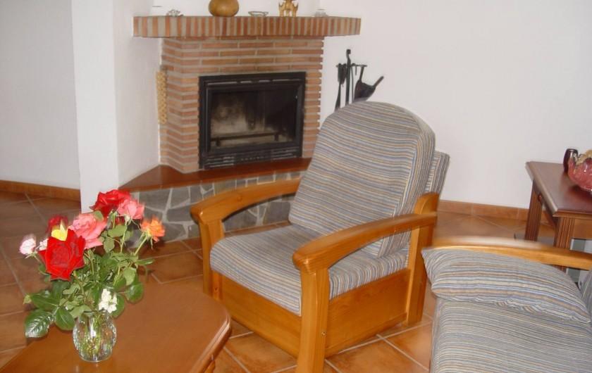 Location de vacances - Maison - Villa à Órgiva - chimenea