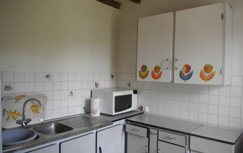 Location de vacances - Chambre d'hôtes à Saint-Patrice-de-Claids - cuisine