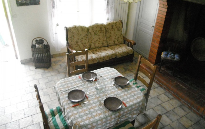 Location de vacances - Chambre d'hôtes à Saint-Patrice-de-Claids - séjour