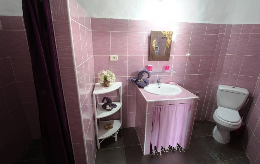 Location de vacances - Maison - Villa à Djerba - salle d ' eau et  toilette