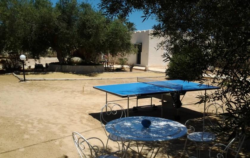 Location de vacances - Maison - Villa à Djerba - coin jeux