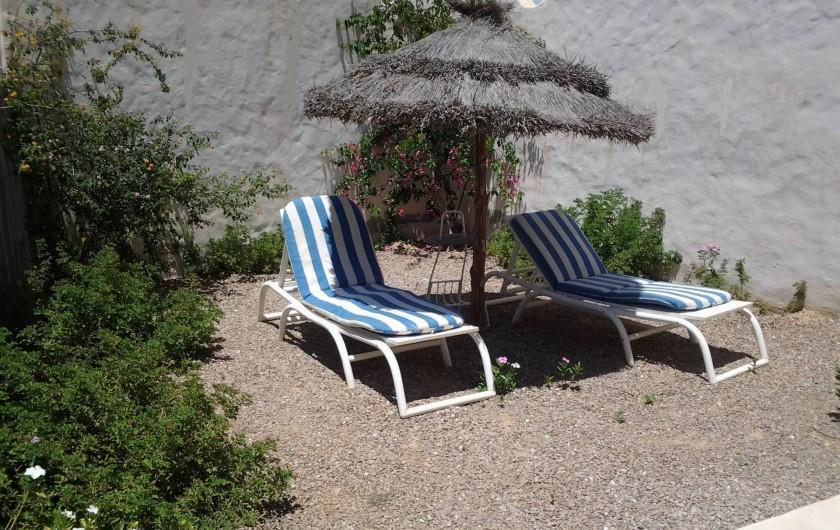 Location de vacances - Maison - Villa à Djerba - terrasse privée Doukana