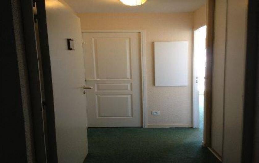Location de vacances - Appartement à Valmeinier - Entrée avec placard