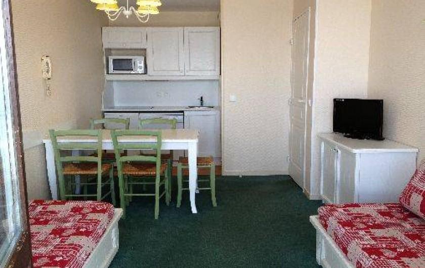 Location de vacances - Appartement à Valmeinier - Salle à manger, coin repas