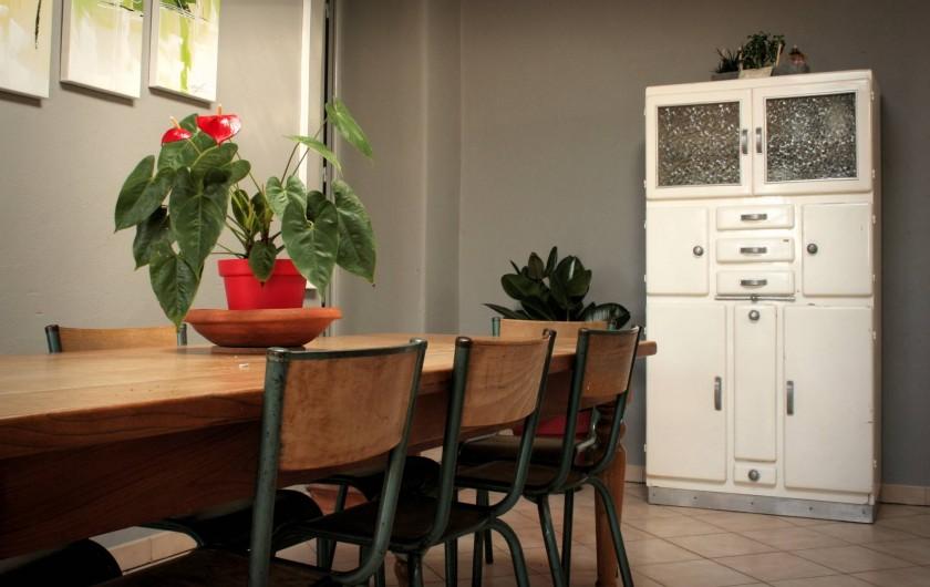 Location de vacances - Appartement à Puy-Saint-Martin - Cuisine.
