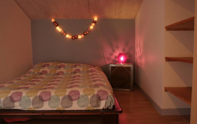 Location de vacances - Appartement à Puy-Saint-Martin - Chambre 1 (avec dressing).