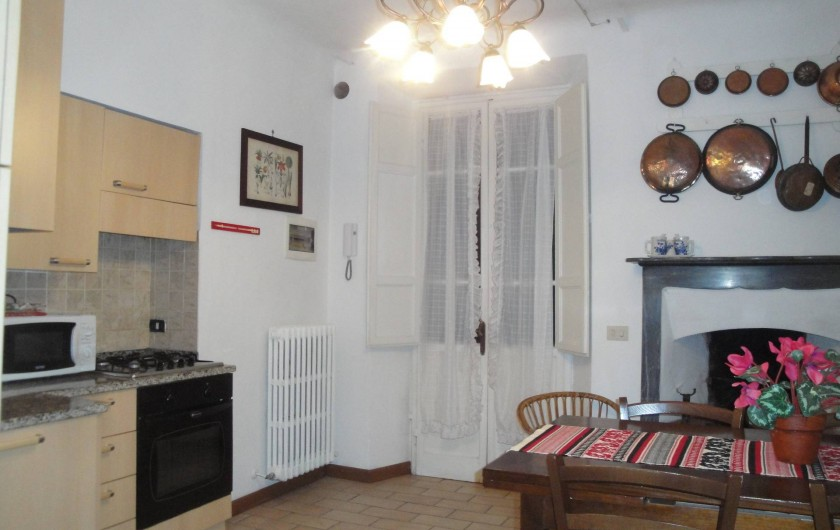 Location de vacances - Appartement à Lucques - Cuisine DAMA apartment