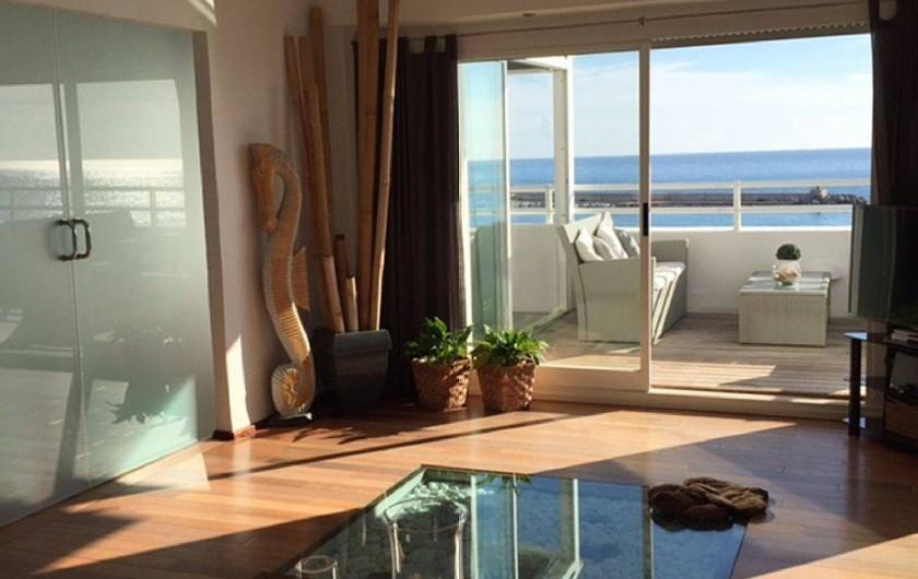 Location de vacances - Appartement à Calp - Lounge from Sofa
