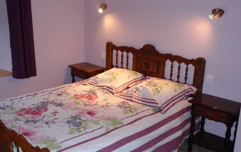 Location de vacances - Gîte à Orbey - Chambre 1