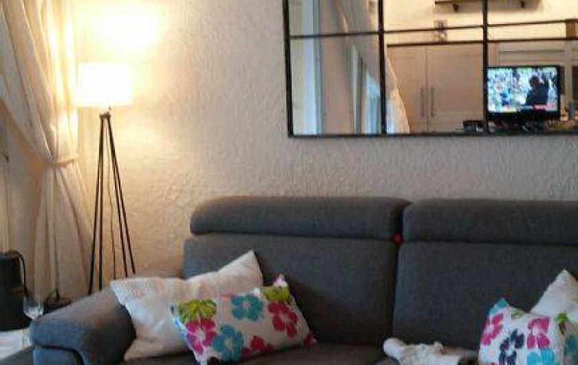 Location de vacances - Appartement à Cavalaire-sur-Mer - salon